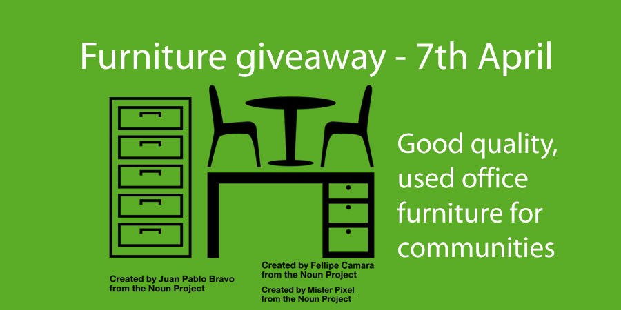 Delightful Office Furniture Including Filing Cabinet, Chairs, Table And Desk Free ...