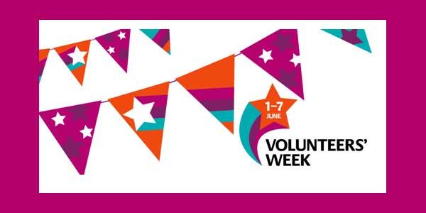 Volunteers' Week, 1st to 7th June
