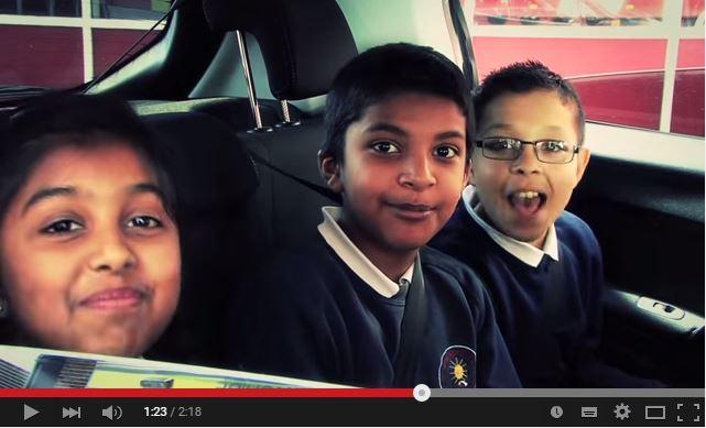 Dewsbury school children star in road safety videos