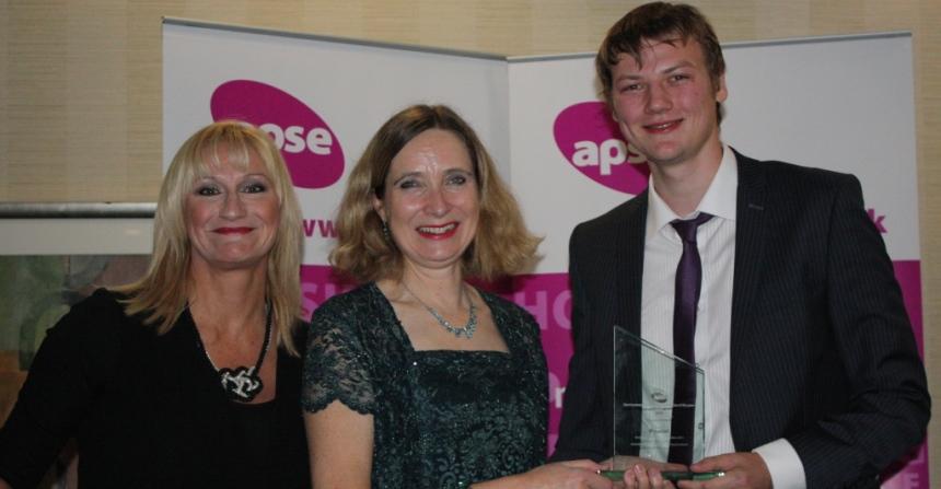 award winning apprentice Joshua Hanson