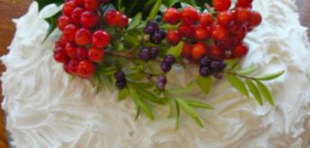 bake Christmas cake