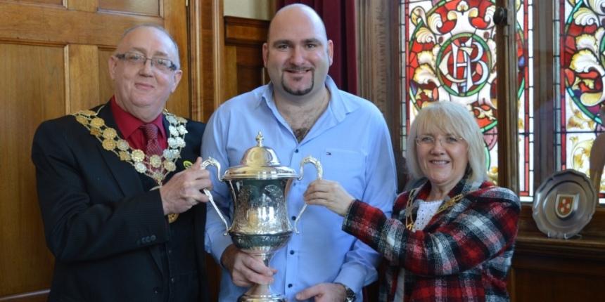Mayor, Scott and Mayoress