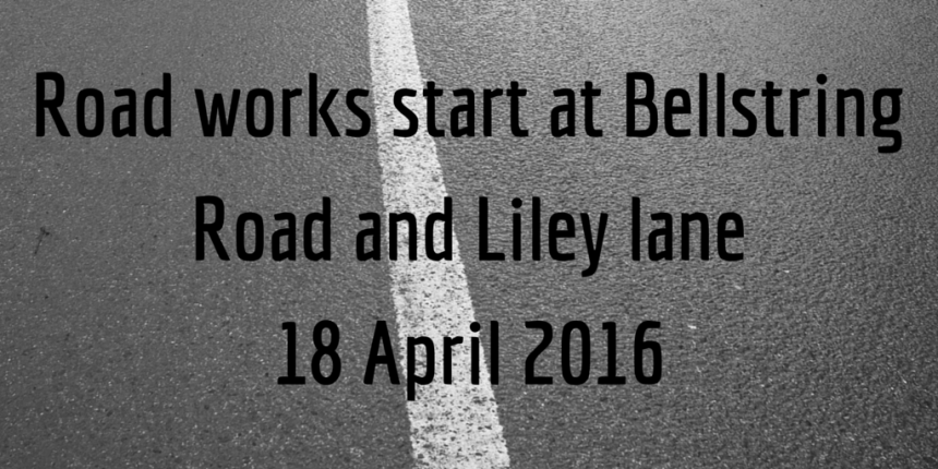 Road works start at Liley Lane tile graphic