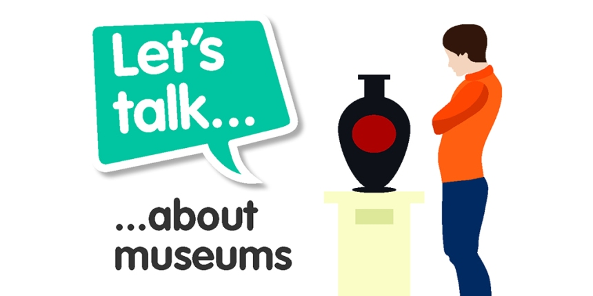 Let's Talk About Museums Graphic tile