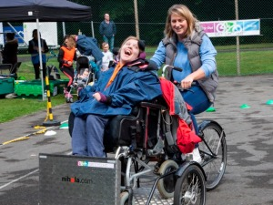 flame event wheelchair cycling