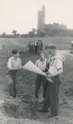 Castle Hill excavations