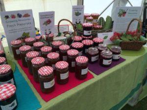 Locally grown jams